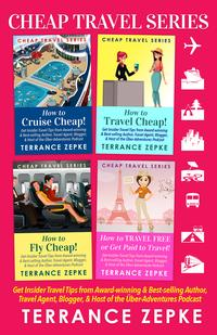 CHEAP TRAVEL SERIES (4 in 1) BOX SET【電子書籍】[ Terrance Zepke ]