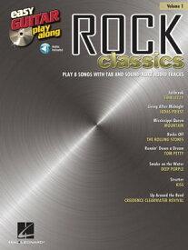Rock Classics (Songbook)Easy Guitar Play-Along Volume 1【電子書籍】[ Hal Leonard Corp. ]