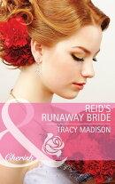 Reid's Runaway Bride (Mills & Boon Cherish) (The Colorado Fosters, Book 3)