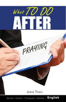 What to do after praying