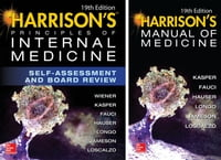 Harrison's Principles of Internal Medicine Self-Assessment and Board Review, 19th Edition and Harrison's Man…