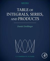 Table of Integrals, Series, and Products【電子書籍】