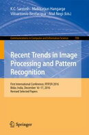 Recent Trends in Image Processing and Pattern Recognition