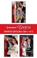 Harlequin Desire March 2018 - Box Set 1 of 2