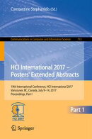 HCI International 2017 ? Posters' Extended Abstracts