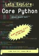 Lets Explore: Core Python (draft version: 0.2)