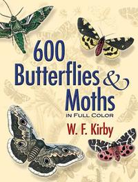 600ButterfliesandMothsinFullColor