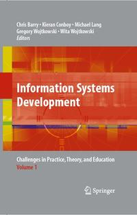 InformationSystemsDevelopmentChallengesinPractice,Theory,andEducationVolume1