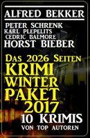 Das 2026 Seiten Krimi Winter Paket 2017
