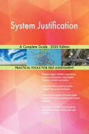 System Justification A Complete Guide - 2020 Edition