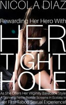 Rewarding Her Hero With Her Tight Hole As She Offers Her Virginity Bareback Style A Stunning Fertile Blonde …