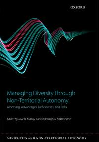 ManagingDiversitythroughNon-TerritorialAutonomyAssessingAdvantages,Deficiencies,andRisks