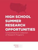 High School Summer Research Opportunities