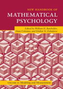 New Handbook of Mathematical Psychology: Volume 2, Modeling and Measurement