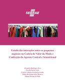 Estudo das interações entre os pequenos negócios na Cadeia de Valor da Moda e Confecção do Agreste Cent…