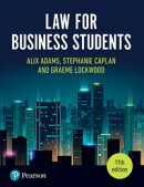 Law for Business Students, 11th Edition