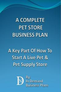 楽天kobo電子書籍ストア a complete pet store business plan a key