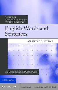 EnglishWordsandSentencesAnIntroduction
