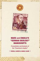 "Marx and Engels's ""German ideology"" Manuscripts"
