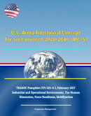 U.S. Army Functional Concept for Sustainment 2020-2040 (AFC-S), TRADOC Pamphlet (TP) 525-4-1, February 2017 …