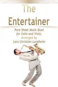 TheEntertainerPureSheetMusicDuetforCelloandViola,ArrangedbyLarsChristianLundholm