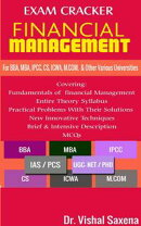 Exam Craker Financial Management For BBA, MBA, IPCC, CS, ICWA, M.COM & Other Various Universities