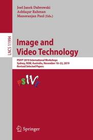 Image and Video TechnologyPSIVT 2019 International Workshops, Sydney, NSW, Australia, November 18?22, 2019, Revised Selected Papers【電子書籍】