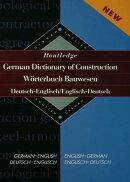 Routledge German Dictionary of Construction Worterbuch Bauwesen