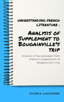 Understanding French literature : Analysis of supplement to bougainville's trip