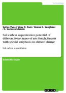 Soil carbon sequestration potential of different forest types of aric Kutch, Gujarat with special emphasis o…