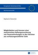 Moeglichkeiten und Grenzen einer statutarischen Haftungszurechnung von Fanausschreitungen zu den Vereinen au…