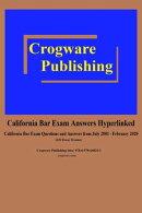 California Bar Exam Answers Hyperlinked 2020