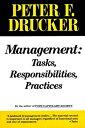 ManagementTasks, Responsibilities, Practices【電子書籍】[ Peter F. Drucker ]