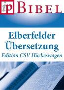 Die Bibel - Elberfelder Übersetzung - Edition CSV Hückeswagen