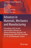 Advances in Materials, Mechanics and Manufacturing