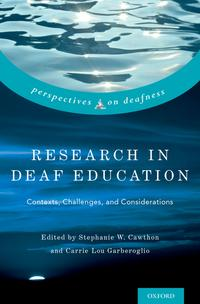 ResearchinDeafEducationContexts,Challenges,andConsiderations