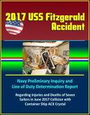 2017 USS Fitzgerald Accident: Navy Preliminary Inquiry and Line of Duty Determination Report Regarding Injur…
