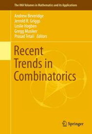 Recent Trends in Combinatorics【電子書籍】