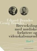 Brevveksling med nordiske forfattere og videnskabsmænd (bind 5)