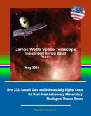 James Webb Space Telescope Independent Review Board Report May 2018: New 2021 Launch Date and Substantially …