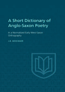 A Short Dictionary of Anglo-Saxon Poetry