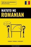 Matuto ng Romanian - Mabilis / Madali / Mahusay