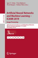 Artificial Neural Networks and Machine Learning ? ICANN 2019: Image Processing