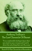 The Last Chronicle Of Barset (Book 6)