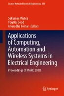 Applications of Computing, Automation and Wireless Systems in Electrical Engineering