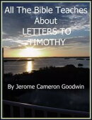 TIMOTHY, LETTERS TO