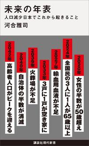未来の年表 人口減少日本でこれから起きること【電子書籍】[ 河合雅司 ]