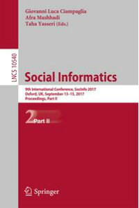 SocialInformatics9thInternationalConference,SocInfo2017,Oxford,UK,September13-15,2017,Proceedings,PartII