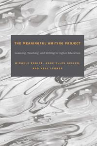 TheMeaningfulWritingProjectLearning,TeachingandWritinginHigherEducation