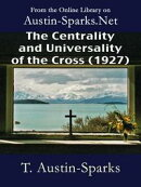 The Centrality and Universality of the Cross (1927)